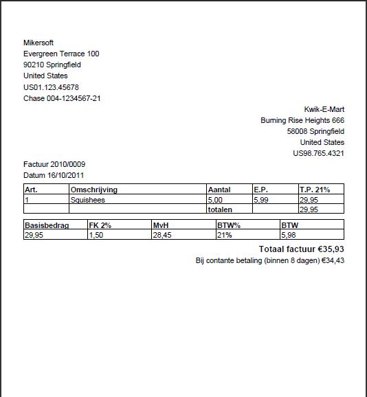 Factureren voor beginners   FCTR.be   eenvoudige vereenvoudigde