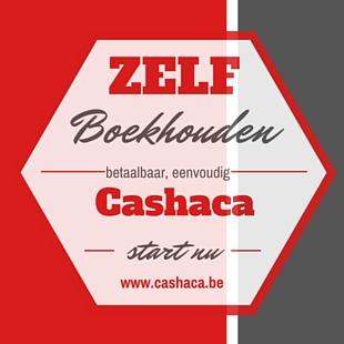Cashaca.be - zelf boekhouden